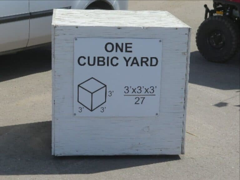 Cubic yard junk removal pricing