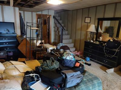 Furniture removal from home